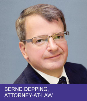 attorney-at-law Bernd Depping